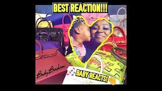 Gunna - Baby Birkin (Starring Jordyn Woods)  1YR OLD REACTION