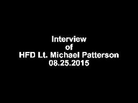 Lt. Mike Patterson's  interview without comments