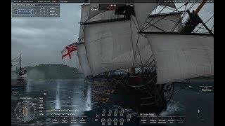 L'Ocean Vs.  Santisima Trinidad, Duel of the Titans, Naval Action