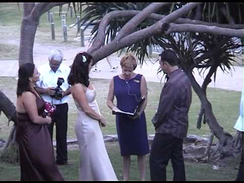 Wedding Celebrant Gold Coast