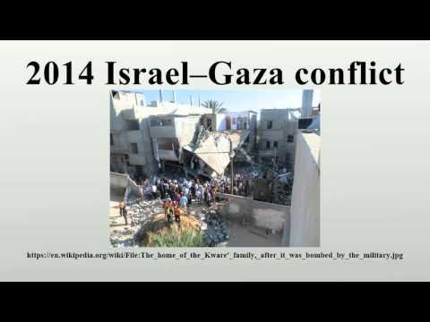 2014 Israel–Gaza conflict