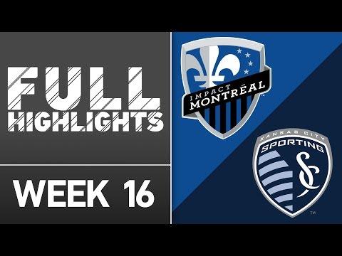 HIGHLIGHTS: Montreal Impact vs Sporting Kansas City | June 25, 2016