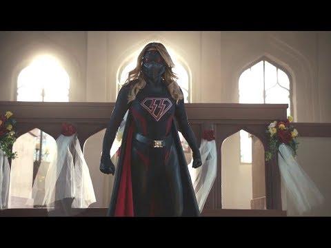 Supergirl VS Overgirl (the masked, evil version of Supergirl) - [Crisis on Earth X]