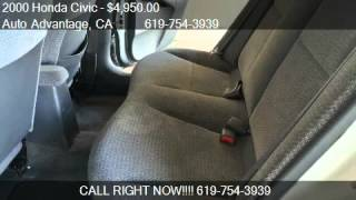 2000 Honda Civic ex - for sale in San Diego, CA 92109