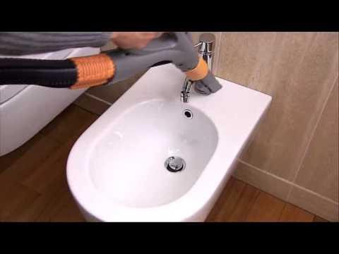 Pulizia vapore sanitari con biocleaner youtube