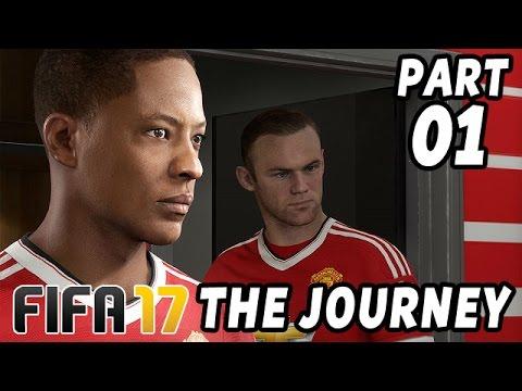 FIFA 17 The Journey Gameplay Deutsch Part 1 - Meine Chance - Let's Play FIFA 17 German PS4