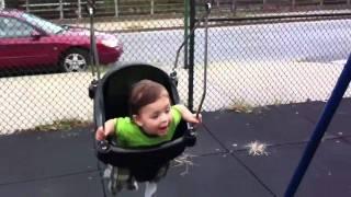 Connor Gerard swinging