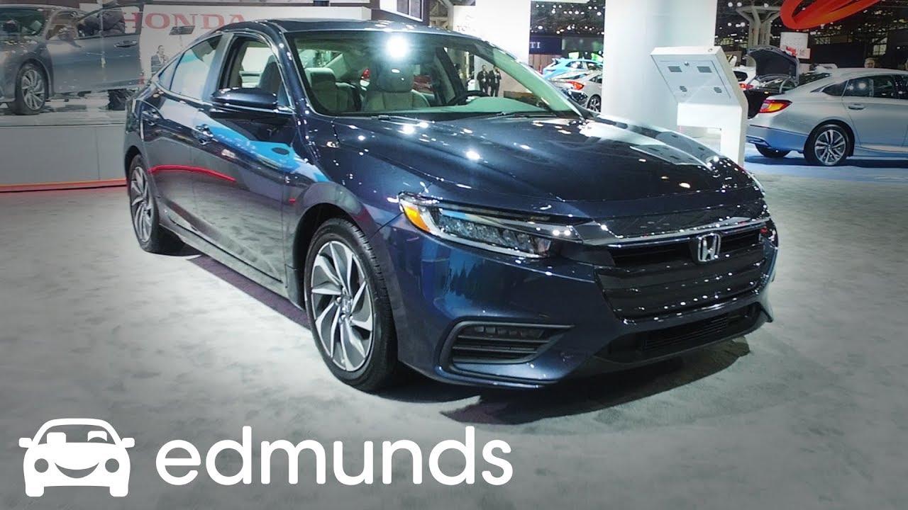 2019 Honda Insight   Unveil   Edmunds - YouTube