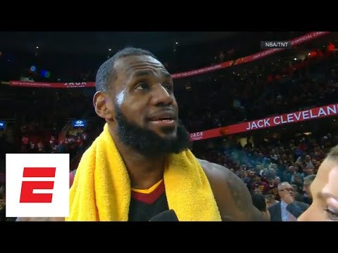 LeBron James: I told teammates 'just give me the ball' on buzzer-beater vs. Pacers | ESPN