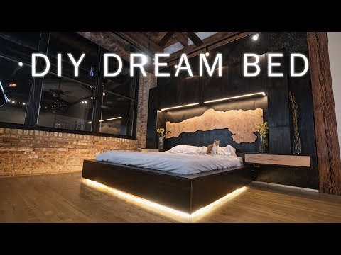 diy-dream-bed-||-modern-bedroom-renovation-for-my-loft-||-woodworking-&-led-lighting