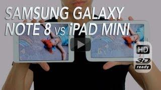 Samsung Galaxy Note 8 vs Apple iPad Mini