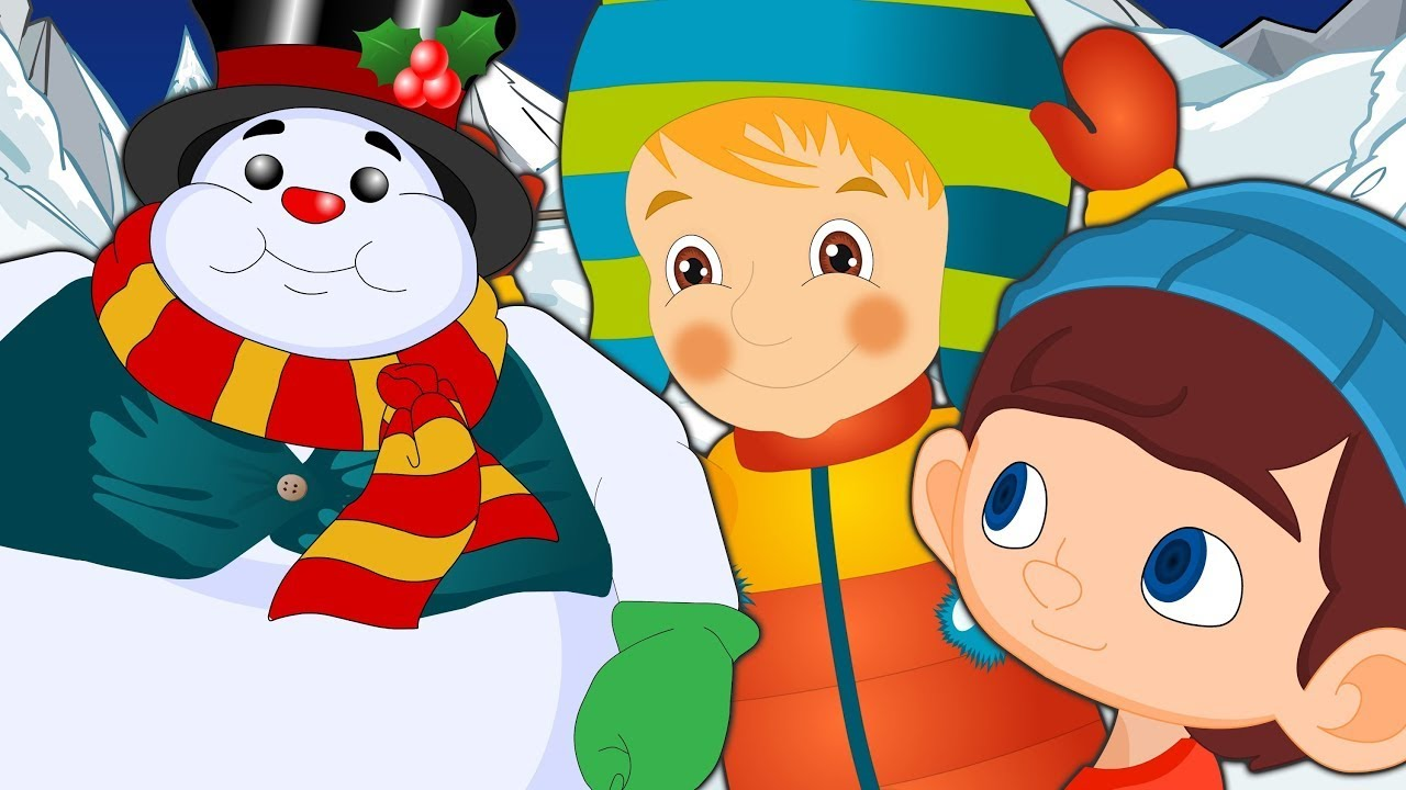 I'm a Little Snowman    Christmas Songs   Winter Songs for Kids