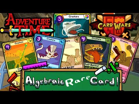 Card Wars: Adventure Time - New Algebraic Gem Chests! Episode 15 Gameplay Walkthrough Android App