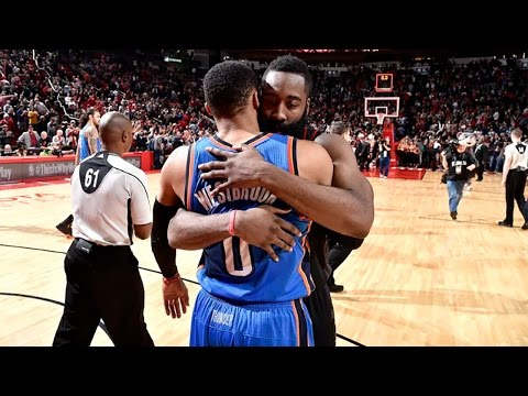 Russell Westbrook EURO-STEPPED By James Harden, Responds With INSANE Trey In Epic MVP Duel
