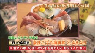 磯山さやかの旬刊!いばらき『那珂湊おさかな市場』ダイジェスト版 磯山さやか 検索動画 25