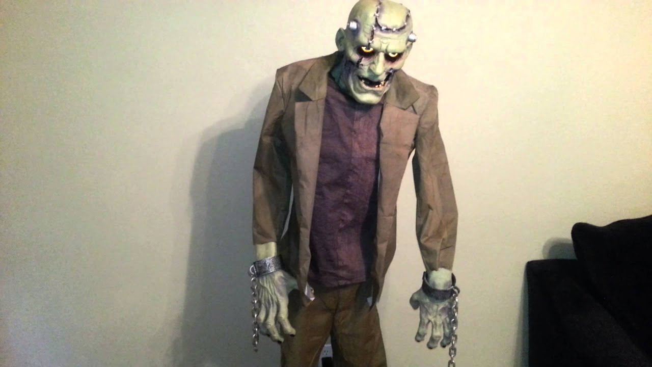 Lifesize 6' Re-Animated Corpse Frankenstein Monster Halloween Prop ...