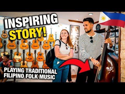 REAL Filipino Culture In CEBU! Family Heritage Guitar Factory
