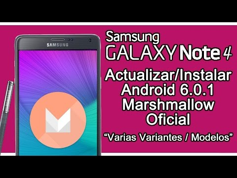 Actualizar Galaxy Note 4 a Android 6 0 1 Marshmallow Oficial