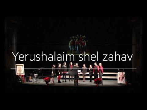 Yerushalaim shel zahav. Cor sOns