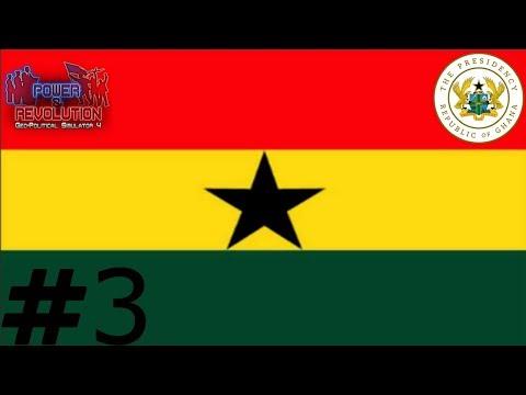 GHANA ~ Episode 3 Season 2 ~ FIGHTING CANCER ~ Geopolitical simulator 4 Power & Revolution