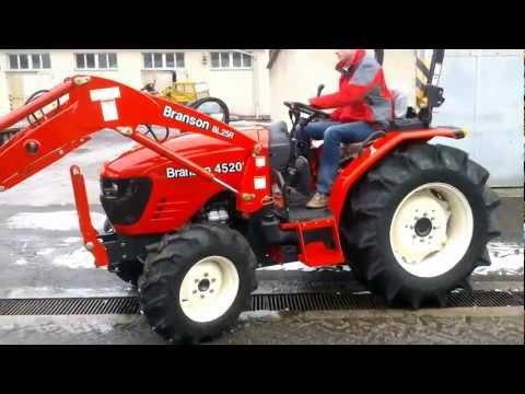 branson 3520 traktor schlepper mit frontlader doovi. Black Bedroom Furniture Sets. Home Design Ideas