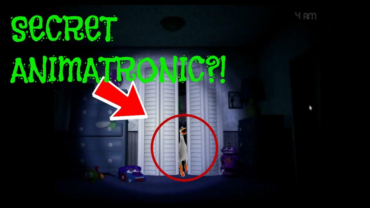 Animatronic World Secret Rooms