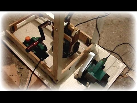 Универсальный стол для электроинструмента своими руками