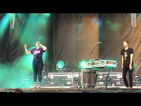Sylvan Esso - Could I Be - Live at Innings Festival - Tempe AZ 3/23/2018