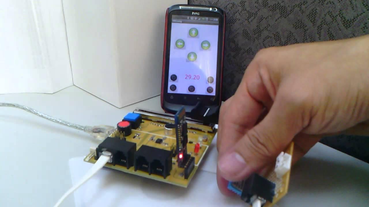 Temperature Monitor Arduino Sensor Board Bluetooth Android
