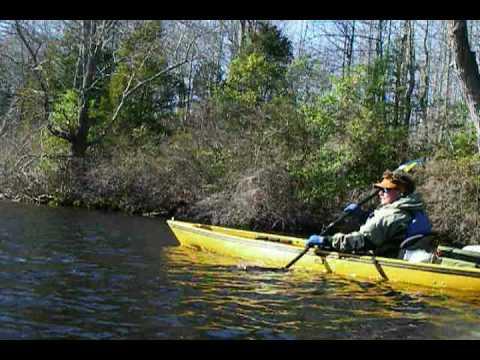 Yakman in A Native Watercraft Ultimate 14.5 Tandem
