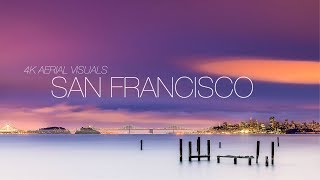 DJI Mavic Pro 4k Cinematic Footage | Aerial Visuals of San Francisco