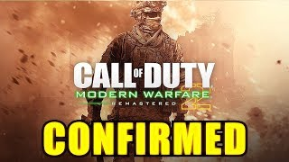 MW2 Remastered OFFICIALLY LISTED but Only for PS4... (Modern Warfare 2 Remastered)