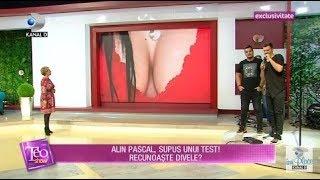 Teo Show (27.07.2018) - Alin Pascal, supus unui test! Recunoaste divele Partea 6