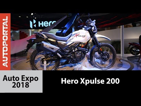 Hero Xpulse at Auto Expo 2018 - Autoportal