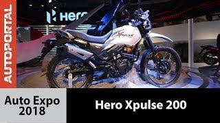 Hero Xpulse at Auto Expo 2018 - Autoportal