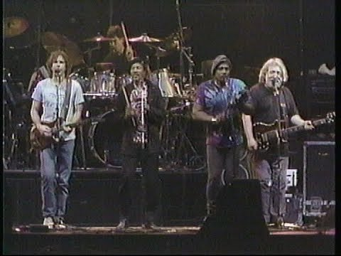 Grateful Dead with Neville Brothers New Years Eve  1987/1988