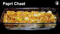 Dahi Papari Chaat Recipe - Chatpati Papari Chaat with Homemade Papari - Special Ramadan Recipe