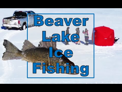 Beaver Lake Ice Fishing 2020