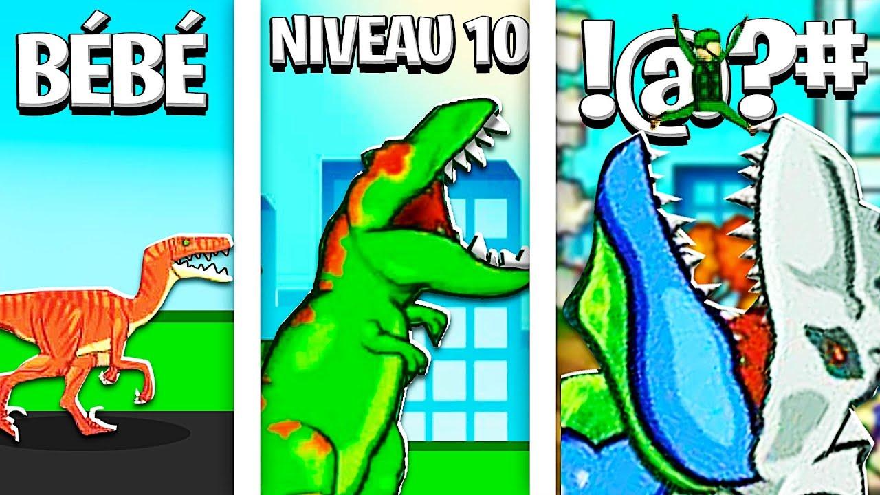 Détruire la terre avec LE MEILLEUR DINOSAURE POSSIBLE ? - Jurassic Dinosaur