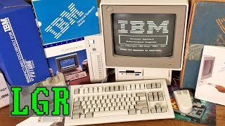 1987 IBM PS/2 Model 25 + Model M SSK Unboxing & Setup