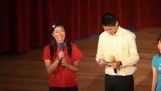 Emcees for HCI CNY Scholar Celebration 08