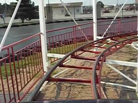 Roller Coaster at Fun Plex, in Omaha, NE