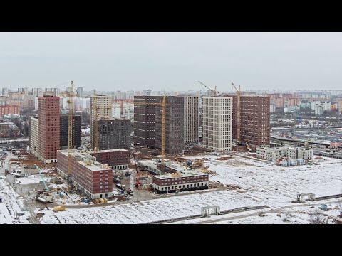 Белая Дача парк | Ход строительства. Январь | ПИК