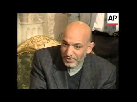 Former boxing legend  Muhammad Ali meets Karzai as UNICEF ambassador