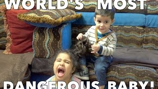 World's Most Dangerous Baby!
