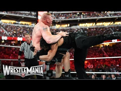 ROMAN REIGNS VS BROCK LESNAR WRESTLEMANIA 31 (EPICO) (ALEYT)