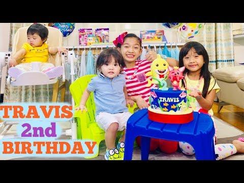 TRAVIS 2nd BIRTHDAY