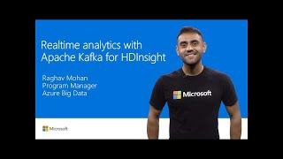 Real-time analytics with Apache Kafka for HDInsight | T161