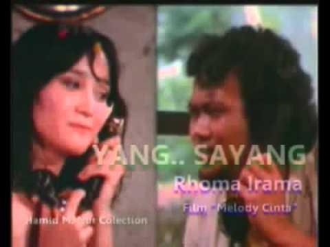 Rhoma Irama   Yang   Sayang Sound Track Film Melody Cinta