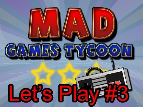 Let's Play Mad Games Tycoon (Francais) #3 On sort du fond !